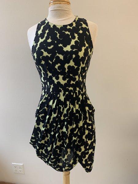 [Pre-Loved] A.L.C. Mini Dress - Black/Green