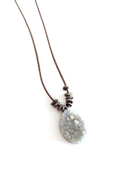 Carol Workinger Studio N-24 Pale Necklace