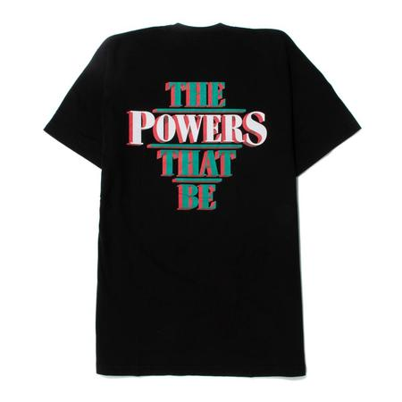 Powers The Power That Be T shirt - Black
