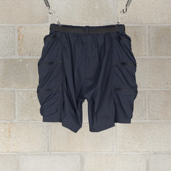 Alk Phenix Container Shorts / Karu Stretch - Black