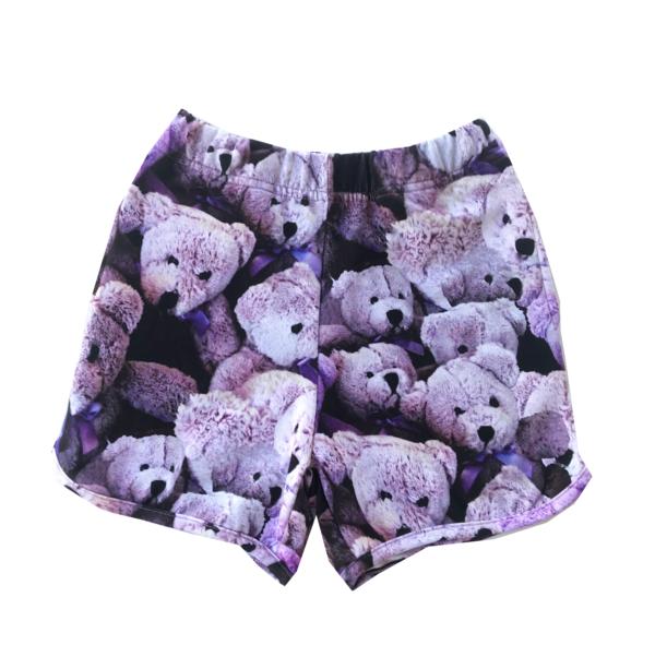 Kids Romey Loves Lulu Purple Bears Shorts