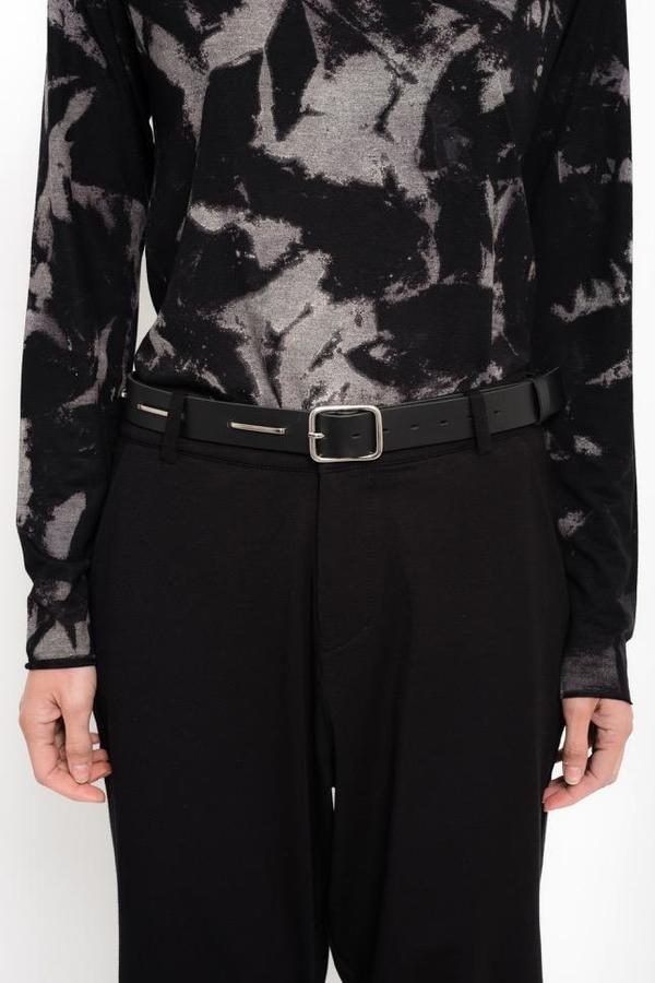 Uma Raquel Davidowicz Tamisa Studded Belt - Black
