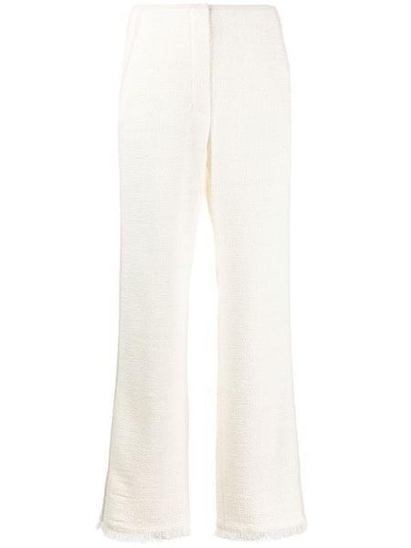 Nanushka High-rise wide leg pants