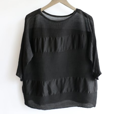[Pre-loved] Issey Miyake Cauliflower Paneled Top - Black