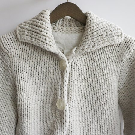[Pre-loved] Margiela for H+M Chunky Sweater - White
