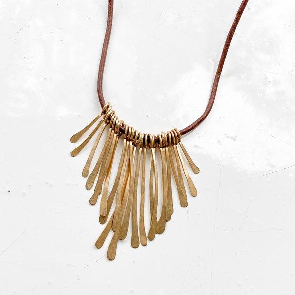 Mary MacGill Fringe Necklace