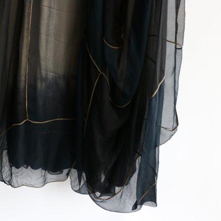 [Pre-loved] Rozae Nichols Sheer Layer 2 Midi Dress - Black