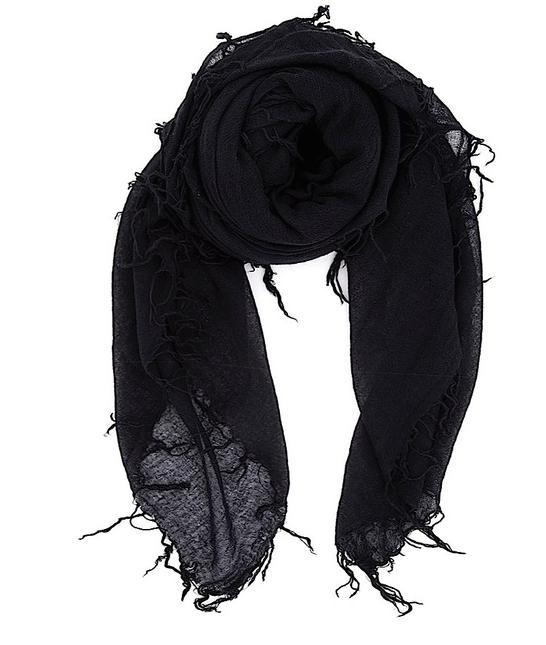 Chan Luu - Black Cashmere & Silk Scarf