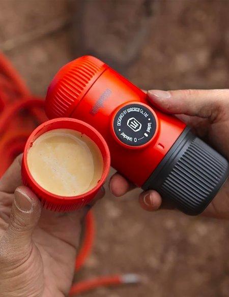 Wacaco Nanopresso Elements Espresso Machine - Lava Red
