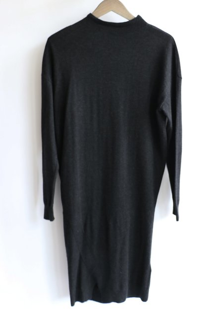 [Pre-loved] All Saints AllSaints Stretch Midi Dress - Charcoal