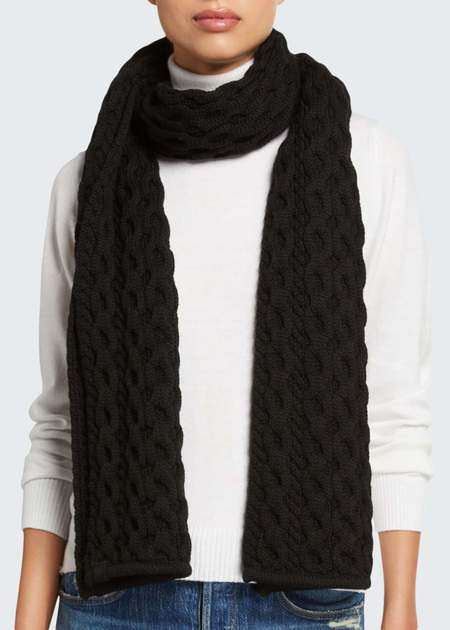 Rag & Bone Cable Knit Scarf