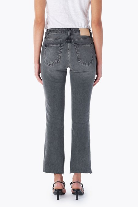Trave Colette Crop Flare Jeans - Touch of Grey