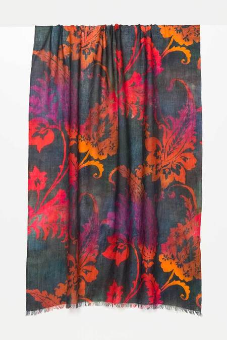 Kinross Ombre Paisley Scarf