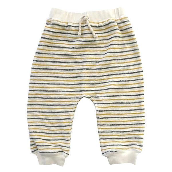 KIDS Nico Nico Baby Jack Striped Sweatpants - cream
