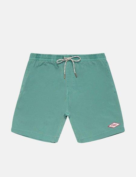 Deus Ex Machina Sandbar Garment Dye Shorts - Aqua Mist