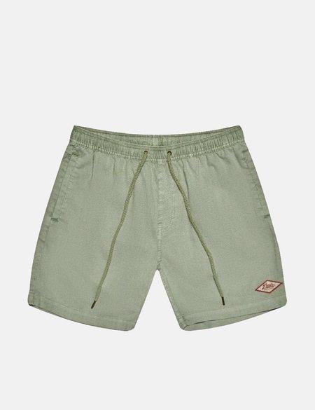 Deus Ex Machina Sandbar Garment Dye Shorts - Tea Green