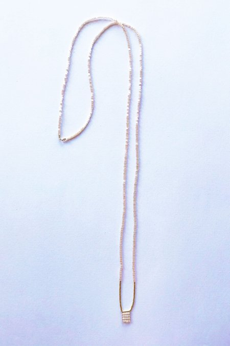 IL Design Strawberry Long Nude Necklace
