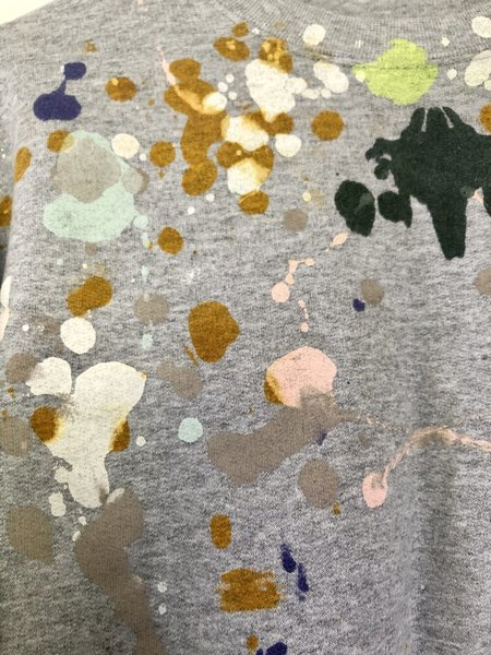 Kate Towers Painted Sweatshirt - Rorschach