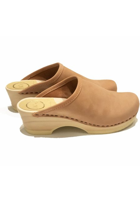 NO.6 Valley Clog On Low Base - Pink Sand