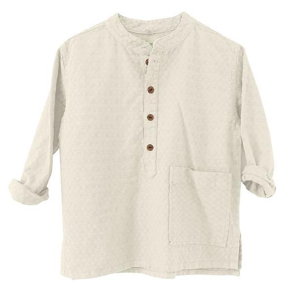 KIDS Nico Nico Child Barrett Shirt - Cream