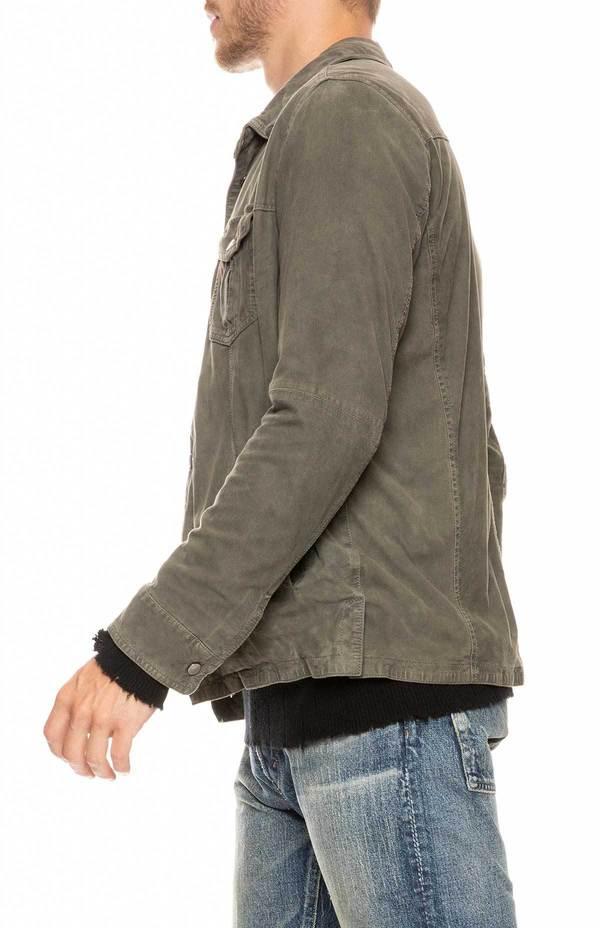 GIMOS SNAP FRONT SHCKT SIDE PKTS  jacket