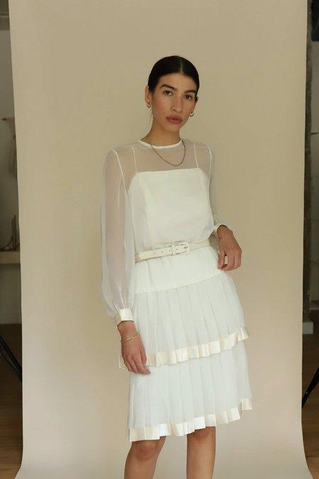 Vintage Camille Dress - Cream