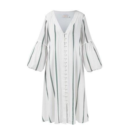 Sancia The Maryse Dress - Fleur Stripe