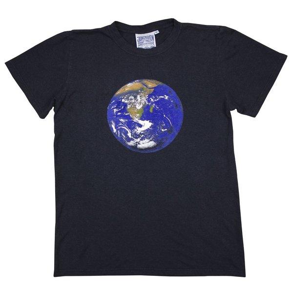 Jungmaven Earth Flag Jung Tee - Black