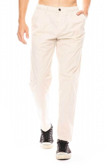 WHITE SANDS Single Pleat Pants - TAUPE 20