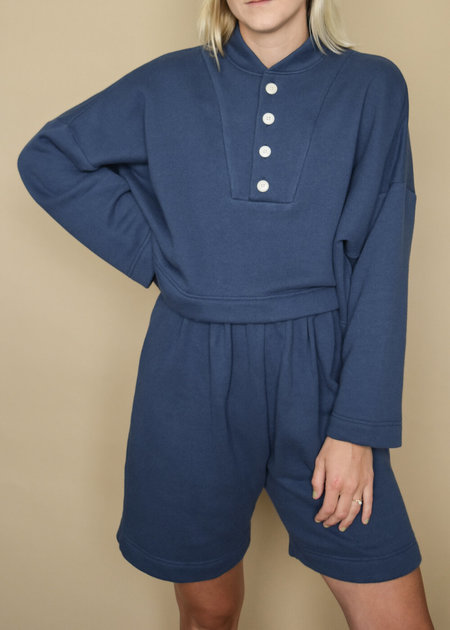 Ilana Kohn Ki Mini Pullover - Dark Terry