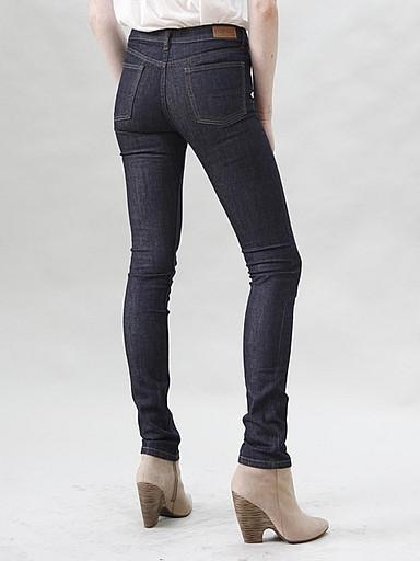 Courtshop - High Waist Jeans in Indigo