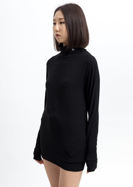 Ambush Logo Turtleneck - Black