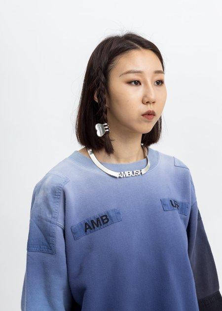 Ambush Heart Hair Clip - Silver