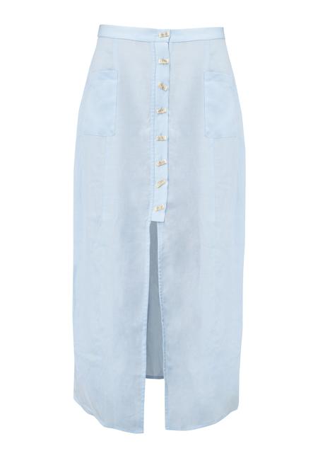 Leonora button down skirt