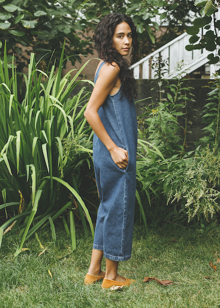 Ilana Kohn - Gary Jumpsuit in Denim