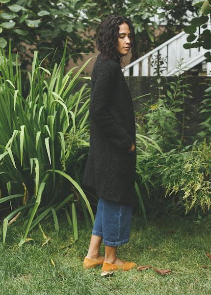 Line Knitwear - Tate in Charcoal
