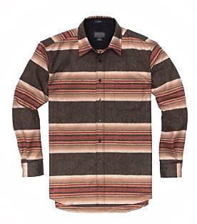 Men's Pendleton Lodge Shirt / Acadia Park Stripe
