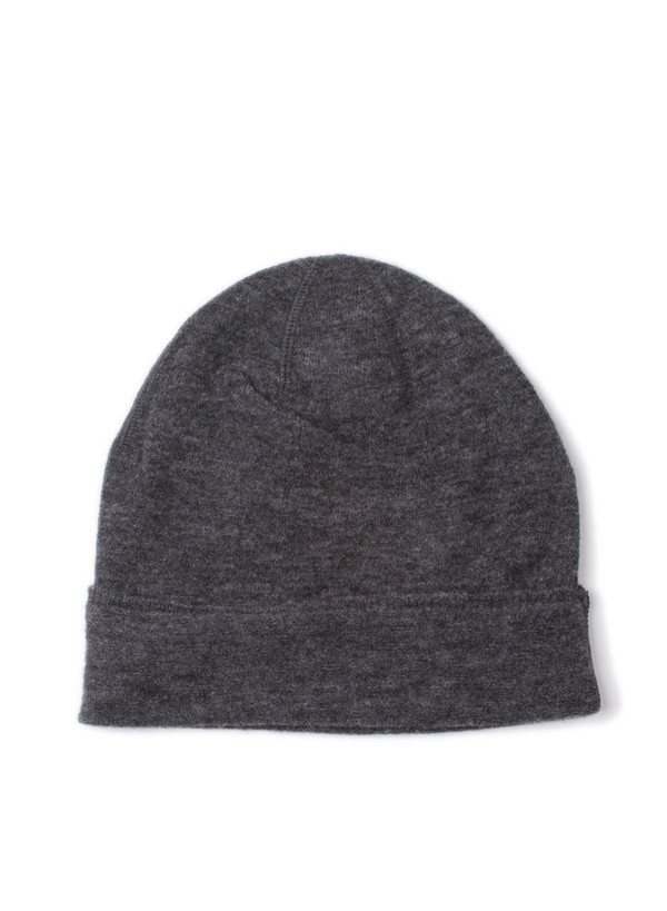 Our Legacy Knitted Hat Grey Fine Merino