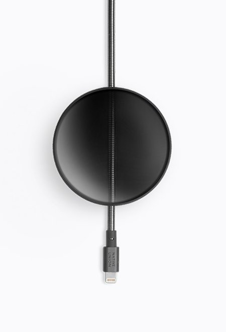 Native Union Dome Cable - Brushed Black
