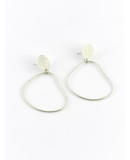Ombre Claire EARRINGS EN EQUILIBRE - sterling silver
