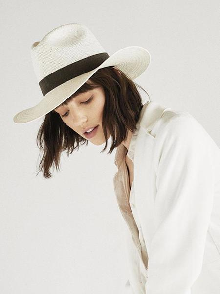 Janessa Leone Marcell Hat - Bleach
