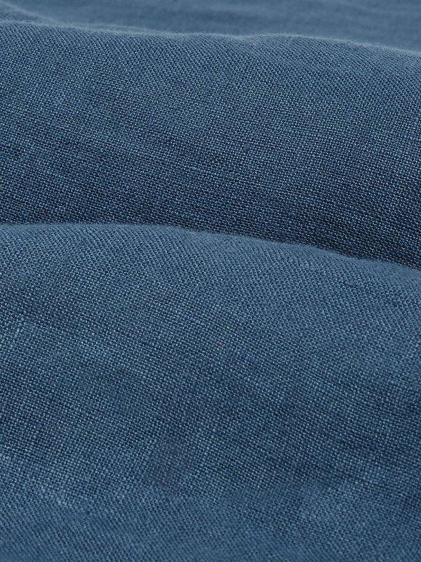 Wax London Holm Shorts - Folkestone Grey Linen