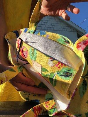 Clare V. Saturday Tote - Yellow