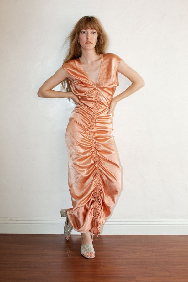 Shaina Mote Neeja Dress - Peony