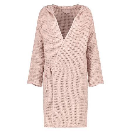 Moumout Paris Woman Pepin Bee Bath Robe - pink
