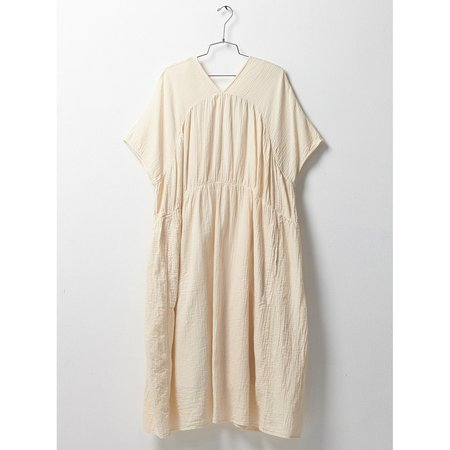 Atelier Delphine Lihue Dress with Slip in Kinari