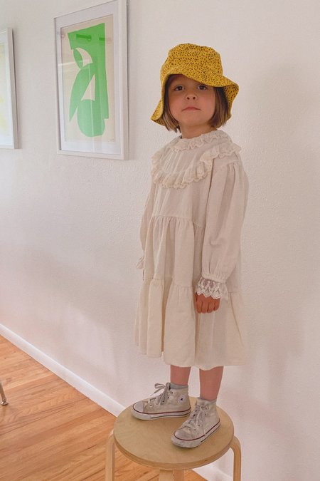 Kids Korean Collective Angel Lace Dress