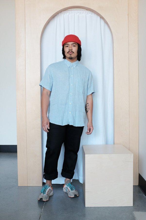 Billy Reid Tuscumbia Linen Shirt