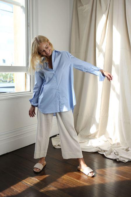 Mina Runaway Shirt - Cornflower