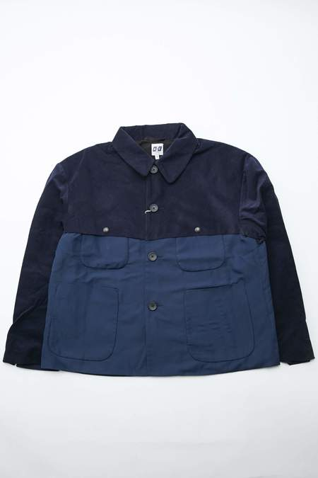 AiE THT Sanded Polyester Microfiber Jacket - Navy